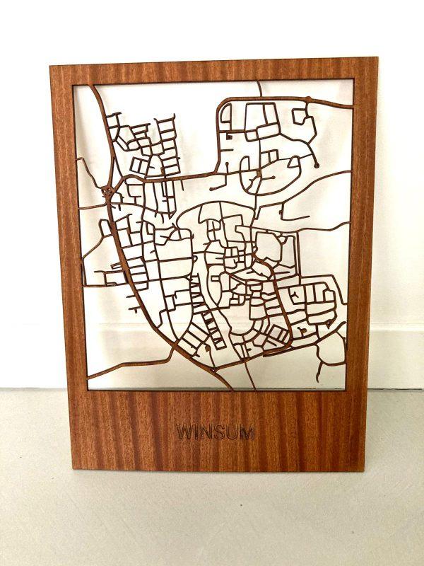 Citymap van Winsum